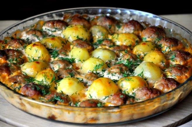 Chiftele cu cartofi
