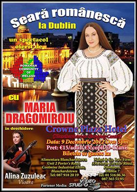 Spectacol Maria Dragomiroiu