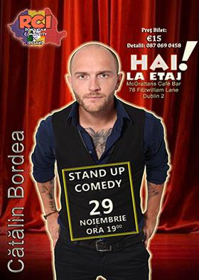 Stand Up Comedy cu Cătălin Bordea