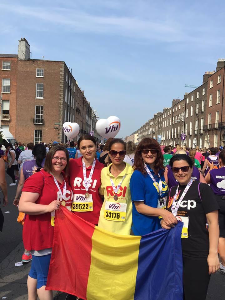 Zilele Românilor din Irlanda, iunie 2016 - Women's Mini Marathon