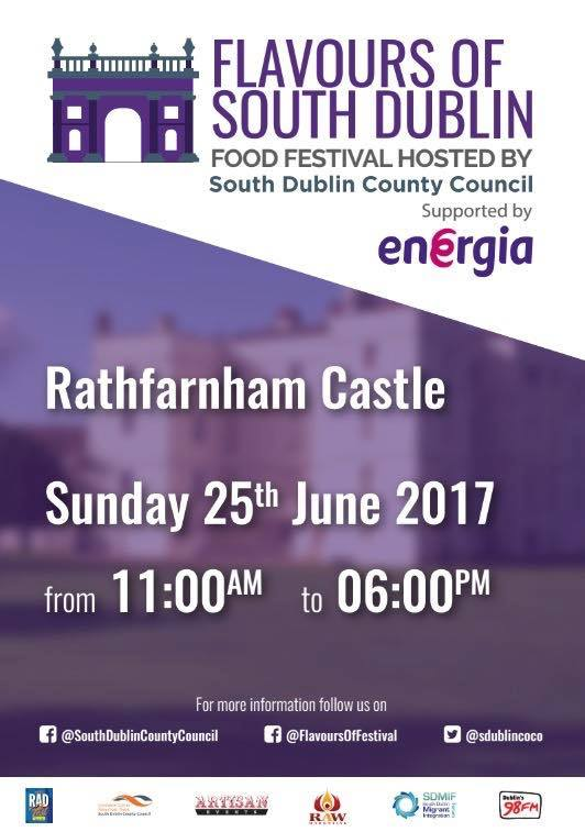 Flavours of South Dublin Festival, Rathfarnham Castle, Dublin, 25 iunie 2017