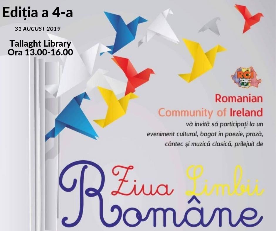 Ziua Limbii Române, 31 august 2019, Tallaght Library