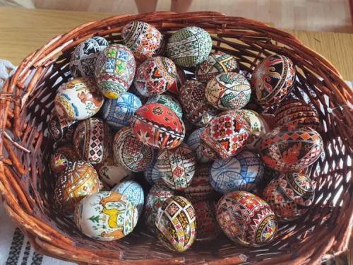 Atelier de artă, Încondeierea ouălor de Paște, 20 Aprilie 2019