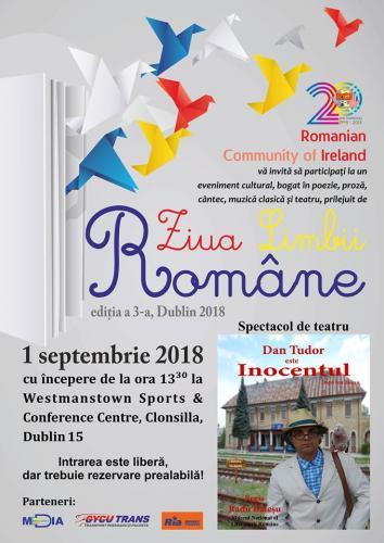 Ziua Limbii Române - Inocentul, septembrie 2018