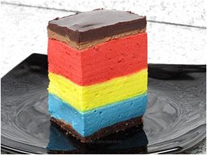 mousse tricolor