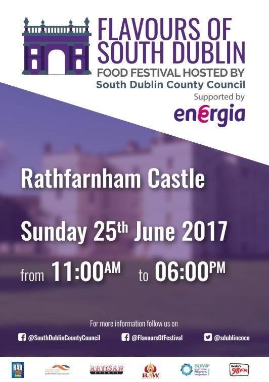 Flavours of South Dublin Festival, Rathfarnham Castle, Dublin, 25 iunie 2017