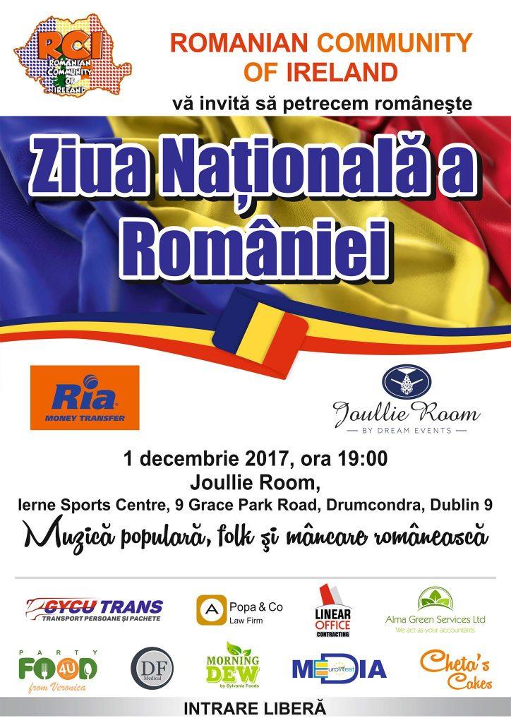 Ziua Națională a României - Joullie Room, 1 decembrie 2017